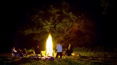 Campfire at Antietam. Maryland film photographer.