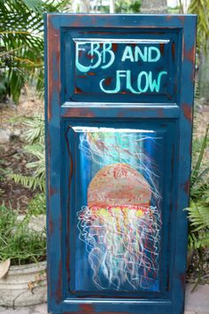 Jellyfish Ebb and Flow by artbylorilynn on Etsy, $595.00