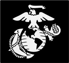 Proud Marine Family Member Custom Vinyl Car Window Decal H X - Anchor custom vinyl decals for car