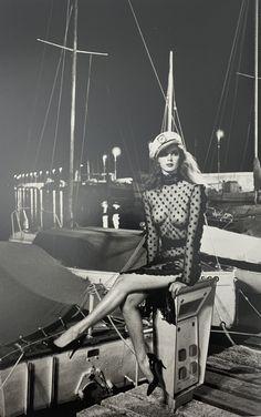 Saint Tropez, Yin Yang, Newton Photo, Foto Pose, Sonia Rykiel, Pics Art, Vogue Paris, Black And White Photography, Oeuvre D'art
