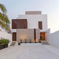 """Casa JLM by Enrique Cabrera Arquitecto #homeadore #architecture #house #home #residence #casa #exterior #property #villa #Chicxulub #mexico…"""