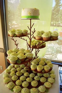 cup cakes deco