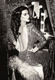 Katy Perry channels old Hollywood glamour in new Ghd campaign