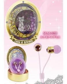 """Sailor Moon - Stained Glass Case & Earphones: Luna & Artemis """"Change your music life"""" with this cute Sailor Moon earphone and case set. off with this coupon Luna Et Artemis, Sailor Moon Merchandise, Girls Life, Geek Chic, Magical Girl, Shoujo, Stained Glass, Geek Stuff, Bling"""