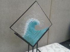Glass sculpture by Frankfort Fall Festival artisan, Jeanine Huot: www.joyfromtheheart.com