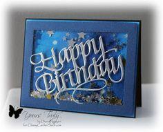 Splitcoaststampers FOOGallery - Starry Shaker Card