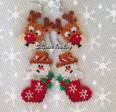 schema: http://www.threadabead.com/4086/1/Snowman-in-Stocking-Earring-Bead-Pattern      schema: http://www.threadabead.com/4086/1/Snowman-...