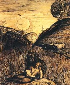 Samuel Palmer born January 27, 1805 in London, UK died May 24, 1881 (76) in Red Hill (Surrey), UK