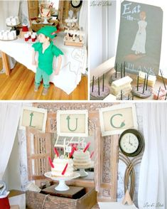 Peter Pan In Neverland Themed Birthday Party