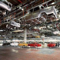 Alfa Romeo Giulia e Giulia GT assembly line