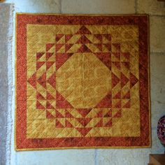 Table topper - from scraps, Martingale Simply Modern Christmas pattern, quilted myself