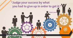 "@Diannecrampton   ""Judge your #success by what you had to give up in order to get it."" – Dalai Lama   #HR #CEO"