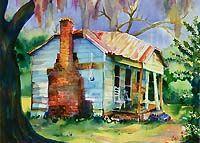 """Louisa's Mansion"" - by Bernadette Cali"