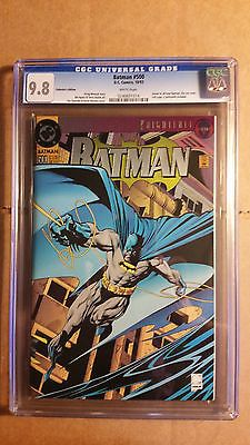 #Batman #500 1st print #collectors edition foil die cut cover #azreal cgc 9.8 nm+,  View more on the LINK: 	http://www.zeppy.io/product/gb/2/281495809182/