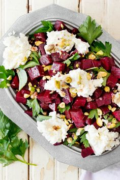 NYT Cooking: It's easy to make a pretty good beet salad, but this one makes the leap into greatness. After decades of kitchen experiments, the chef and beet maven Andrew Carmellini shared how to elevate both elements: marinate the beets, then season and whip the goat cheese.Feel free to cook the beets on a grill instead of in the oven if you've got a fire going. Young beets,%2...