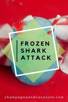 Enjoy Shark Week with this delightful Frozen Shark Attack cocktail. Made with blue curacao, rum, and Powerade, it's a delicious blended drink that's sure to please. Cool and refreshing, it's a great choice for summertime sips. #sharkattack #sharkdrink #frozendrinks #bluecuracao #rum #bluedrinks Cocktails With Blue Curacao, Blue Drinks, Summer Drinks, Cocktail And Mocktail, Cocktail Recipes, Shark Cupcakes, Coconut Rum, Frozen Drinks, Shark Week