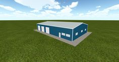 3D #architecture via @themuellerinc http://ift.tt/1RA5sR7 #barn #workshop #greenhouse #garage #DIY