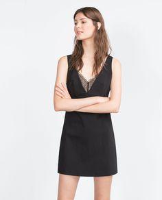 LACE DRESS - View all - Dresses - WOMAN | ZARA United States