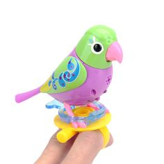 New Singing Sound Birds Pets Sing Solo Intelligent Music Toys Music Bird Kids Children Electric Toys 20 Songs