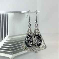 Excited to share the latest addition to my shop: Silver Chandelier Earrings - Statement Dangle Earrings - Reclaimed Platinum - Zero Waste - Fish Hooks - Unique Gift for Mom Silver Chandelier, Chandelier Earrings, Unique Gifts For Mom, Gifts For Her, Boho Earrings, Statement Earrings, Geek Gifts, Silver Filigree, Zero Waste
