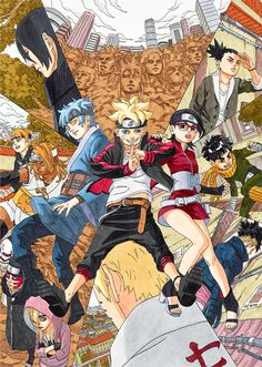 """75 Facts about Boruto: Naruto Next Generations """"Masashi Kishimoto confirmed during a TV interview that he gave Sasuke the role of Boruto's master due to the inspiration of Akira Toriyama's Son Gohan and Piccolo."""""""