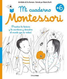 Portada Mi cuaderno Montessori +6