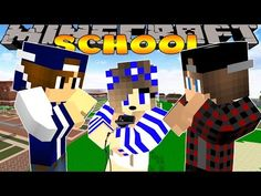 Minecraft-Little Carly Adventures-FIGHTING THE SCHOOL BULLIES!! - YouTube