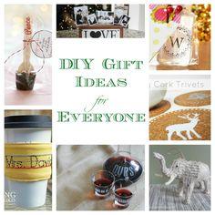 Homemade Gift Ideas (DIY Ideas for Everyone!)