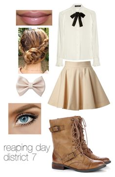 """""""reaping day D7"""" by jayhoranhood13 ❤ liked on Polyvore featuring RED Valentino, Dolce&Gabbana, Sole Society and Forever 21"""
