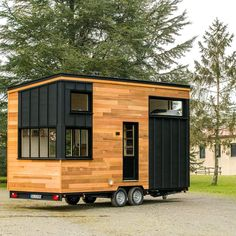 Small Tiny House, Modern Tiny House, Micro House, Tiny House Cabin, Tiny House Design, Tiny House Trailer Plans, Tiny House Plans, Tiny House On Wheels, Building A Container Home