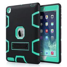 ULAK iPad 4 Case, [Heavy Duty] Rugged Hybrid Shockproof Three Layer Hard and Soft Protective Cover with Kickstand for Apple iPad 2,iPad 3,iPad 4 (ULAK Aqua Mint/ULAK Black) ULAK http://www.amazon.com/dp/B012B3WVWI/ref=cm_sw_r_pi_dp_DAMwwb1ARHNPR