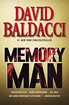 Memory Man, 2015 The New York Times Best Sellers Fiction winner, David Baldacci #NYTime #GoodReads #Books