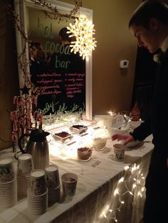 Hot Cocoa Bar was a hit!