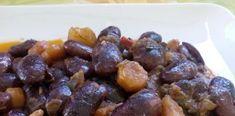 Σούπερ σπέσιαλ μαύροι γίγαντες με λαχανικά Fruit, Ethnic Recipes, Food, Essen, Meals, Yemek, Eten