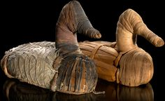 Duck decoys, circa National Museum of the American Indian -Smithsonian Institute (Courtesy/Ernest Amoroso) Earliest known decoys - found in Lovelock Cave, Nevada - Several in a woven basket - Species: Canvasback