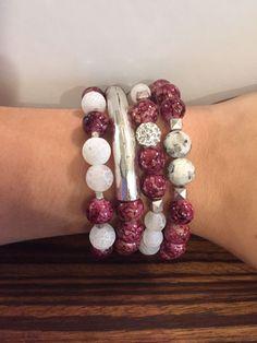 Tied Together MSU Game Day Bracelet Set