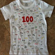 Celebrating 100 days at school