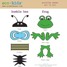 eco-kids easter egg decoration  cut outs