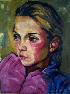Artist Andrew Owen - Portrait in Oil