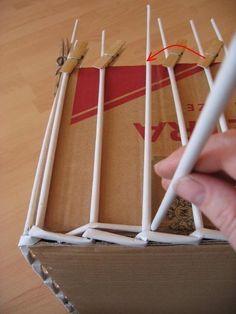 Korb aus Zeitungspapier flechten-dekoking-1                                                                                                                                                                                 Mehr