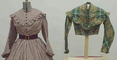 Civil War Sutler Blockade Runner's Ladies Fashion Page 4, Day and Walking Dresses, 1860's Civil War Era 3-17-09.