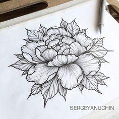 Individual design ✏ #sergeyanuchin #sunrisetattooworkshop #mangust_tattooer…