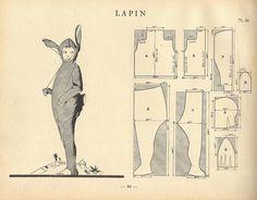 vintage bunny suit - A gente nunca sabe quando pode precisar de uma fantasia de coelho não é!?