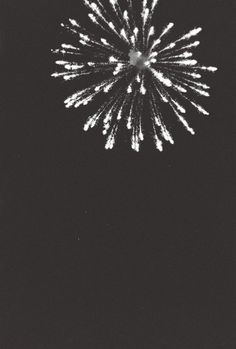 fireworks, black and white, photography