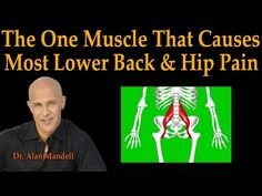 The One Muscle That Causes Most Lower Back & Hip Pain - Dr Mandell Live Stream - Exercises Neck And Back Pain, Low Back Pain, Psoas Release, Feeling Numb, Hip Problems, Psoas Muscle, Muscle Pain, Tight Hip Flexors, Hip Pain