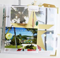 Hello 8x8 Mini album with inside page inspiration by @kimjeffress for @heidiswapphello