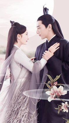 Ten miles of peach blossoms สามชามสามภพป่าท้อสิบหลี่ Mark Chao & Yang Mi Peach Blossom Tree, Peach Blossoms, Eternal Love Drama, Chinese Movies, Chinese Actress, Asian Actors, Traditional Outfits, Asian Beauty, Actors & Actresses