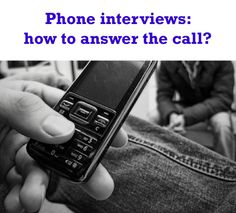 Phone #interview tips