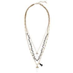 Atlas Three-Row Convertible Necklace #chloeandisabel https://www.chloeandisabel.com/boutique/lisahaas