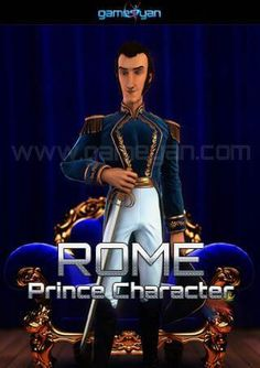 3D Rome Prince Character Modeling   #Animation